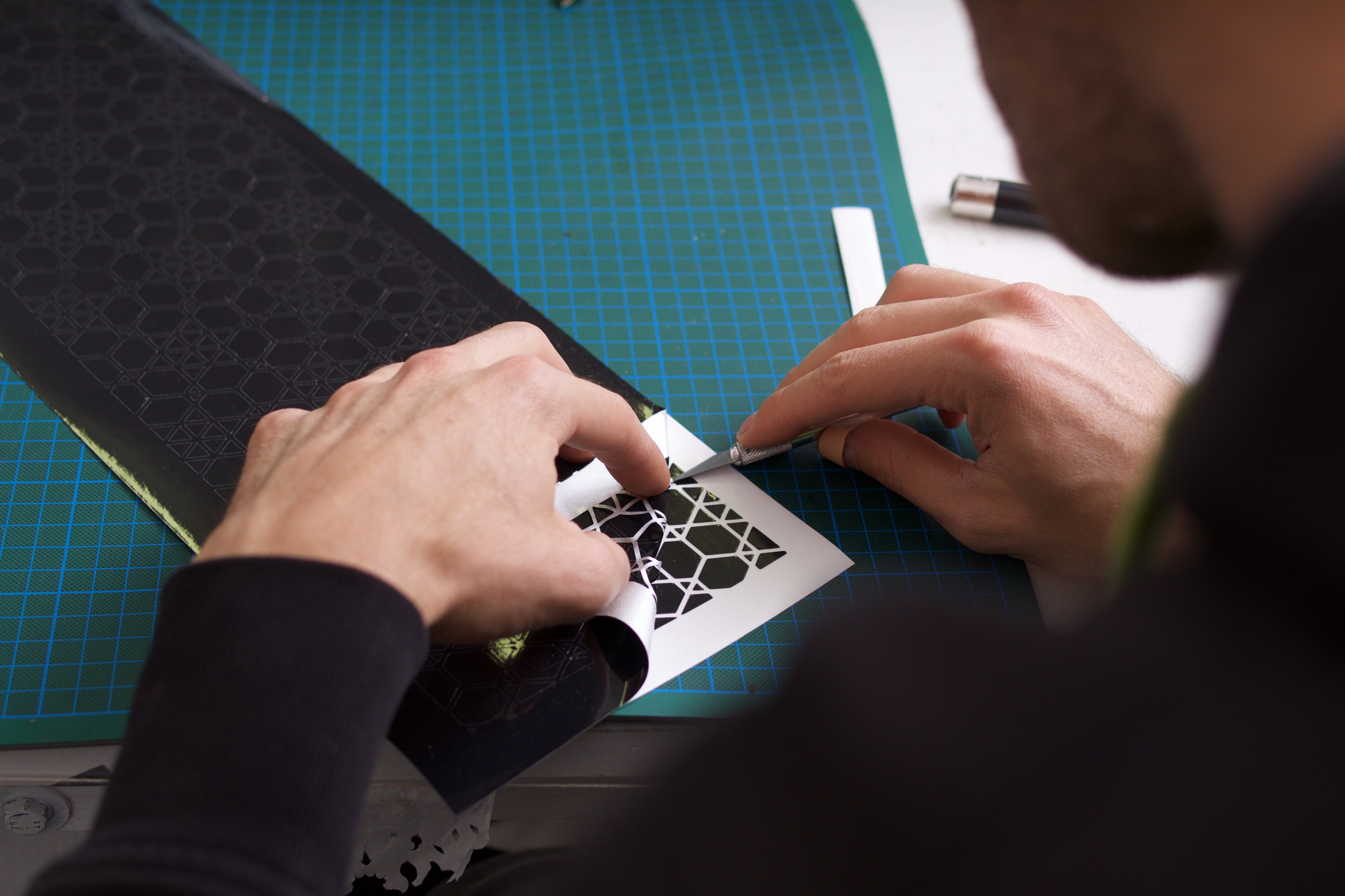 Stickerherstellung bei REFLECTIVE BERLIN
