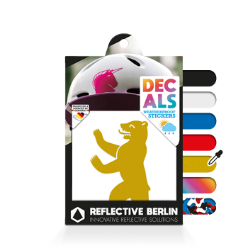 Reflective Decal - Berlin Bear image