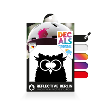Reflective Decal - Owl image