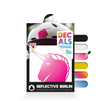 Reflective Decal - Unicorn image