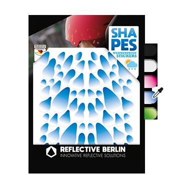 Reflective Shapes - Rain Drops image