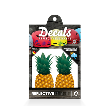 Reflective Decal - Pineapple image