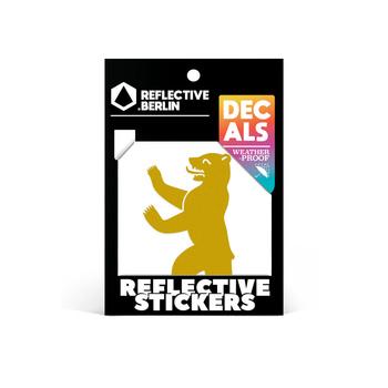 Reflective Decal - Berlin Bear image