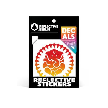 Reflective Decal - Ganesha image