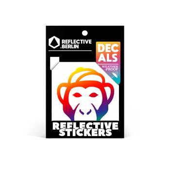 Reflective Decal - Monkey image