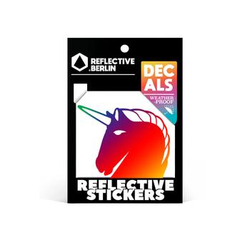 Reflective Decal - Unicorn image